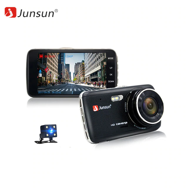 Dash camera Junsun H7 dash camera junsun a730 32gb 7 inch 3g car gps navigation android wifi dvr camera video recorder rearview mirror vehicle gps