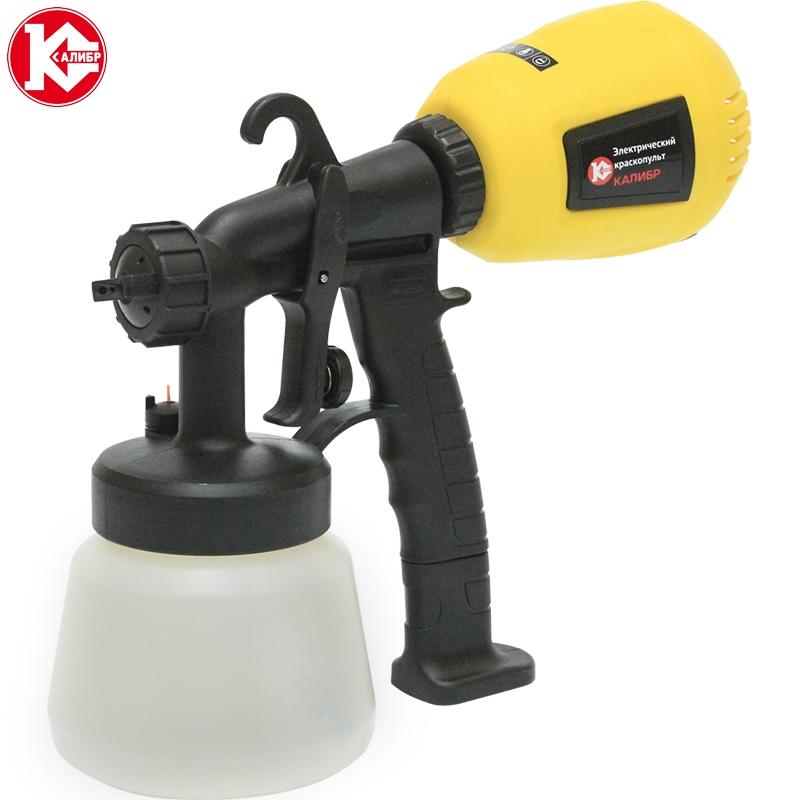Electric paint spray gun Kalibr MASTER EKRP-350/2.6M