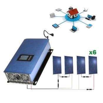 Kit solar 1500wh Autoconsumo inyección red