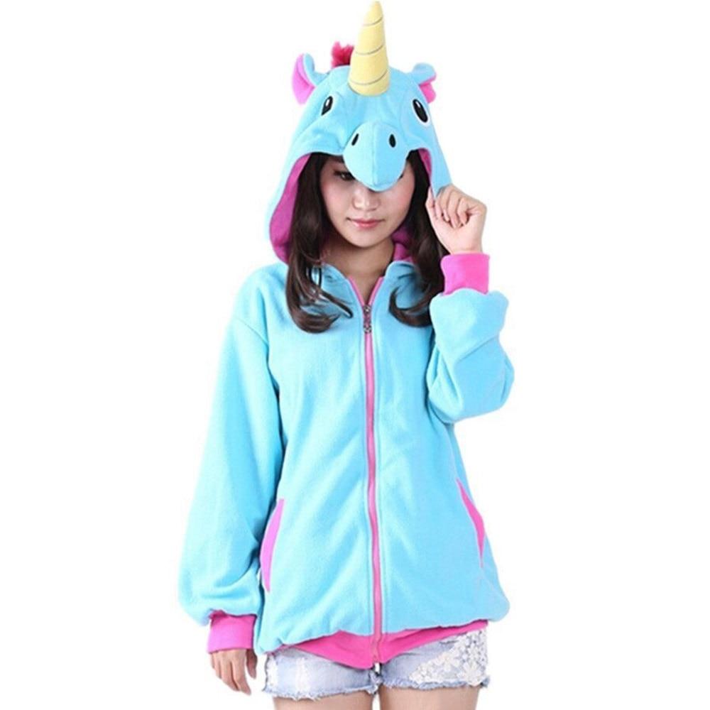 New Women Novelty Hoodies Fashion Cartoon Sweatshirts Tracksuits Girl Winter Cute Jacket Christmas Halloween Gifts