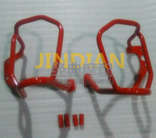 Engine Guard Highway Crash Protector Bars for BMW R1200R 2007-2014 Red