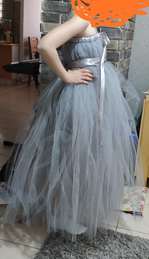 2019 New tulle baby bridesmaid flower girl dress fluffy ball gown birthday evening prom cloth tutu party wedding dress Vestido