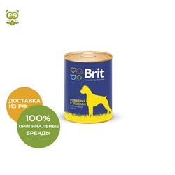 Влажные корма для собак Brit