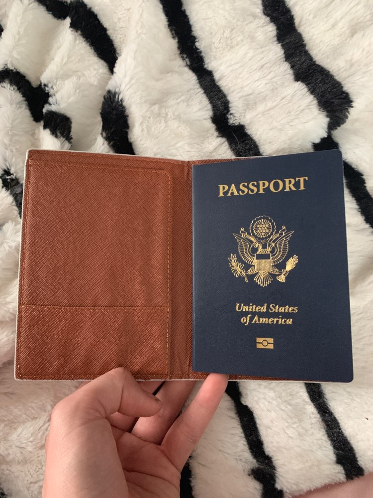 pu bearbear bunny heart cartoon print travel passport card holder bag ID CREDIT TICKET card cover folder clip purse bag photo review