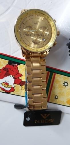 Relógios de quartzo chronograph datahomens Relógios