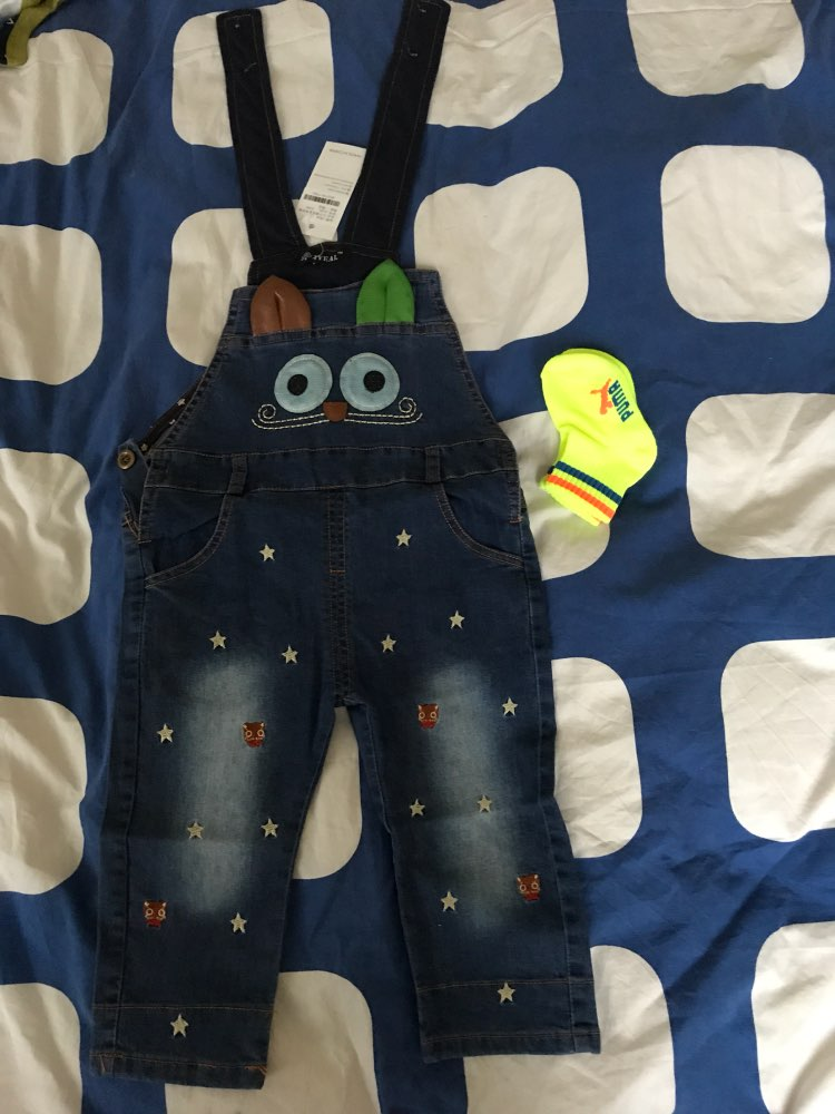 b33ac88b1 IYEAL 2017 Autumn Baby Rompers Animal Baby Boy Girl Jeans Jumpsuit ...