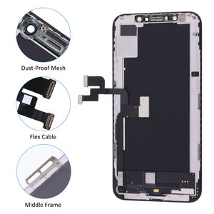 Image 3 - Klasa Elekworld dla testowanych AMOLED działa dobrze LCD dla iPhone X XS wyświetlacz LCD z ekranem dotykowym 3D Digitizer montaż części