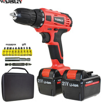 21V Power Tools Electric Drill Cordless Drill Battery Drill Electric Screwdriver Li Ion Batteries Mini Electric