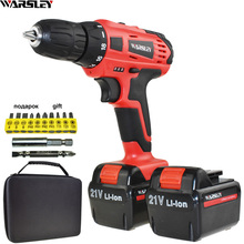21V Power Tools Electric Drill Cordless Drill Battery Drill Electric Screwdriver Li-ion Batteries Mini Electric Drilling Eu Plug 21v electric screwdriver power tools electric drill cordless drill batteries screwdriver mini 1 5ah battery capacity drill