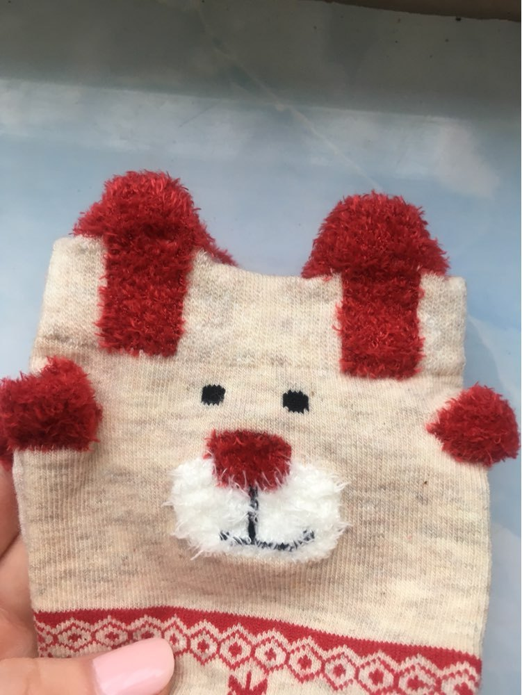 new 2018 women sock winter warm christmas gifts stereo - 751×1000