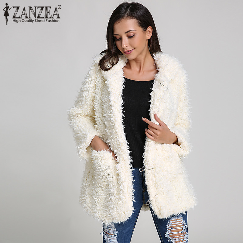 61d5f5dde17 Detail Feedback Questions about ZANZEA Plus Size Women Teddy Bear Ears  Hoodies Sweatshirt 2018 Winter Warm Thick Soft Fleece Fur Cute Hooded Blusa  Outwear ...