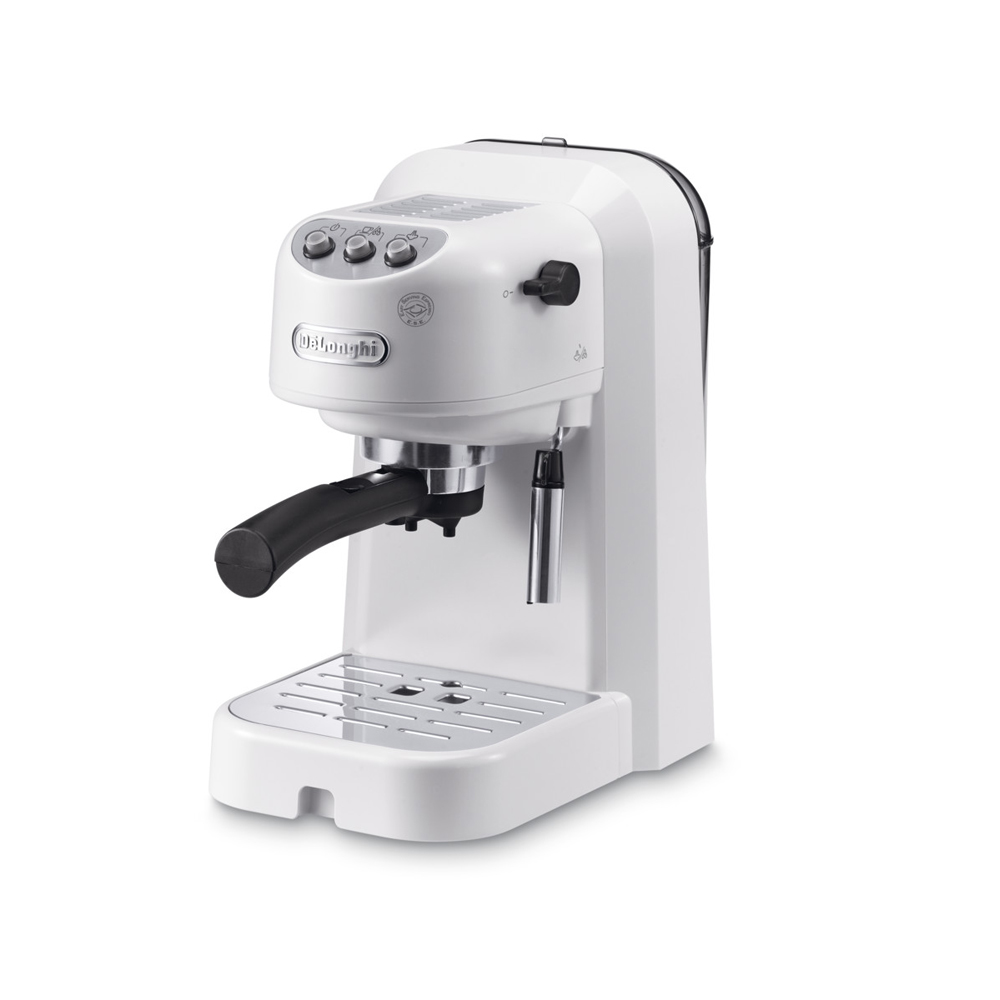 coffee maker Delonghi EC251.W electric automatic horn espresso machine milk frother cappuccino vacuum pump permanent filter bread maker redmond rbm m1911 free shipping bakery machine full automatic multi function zipper