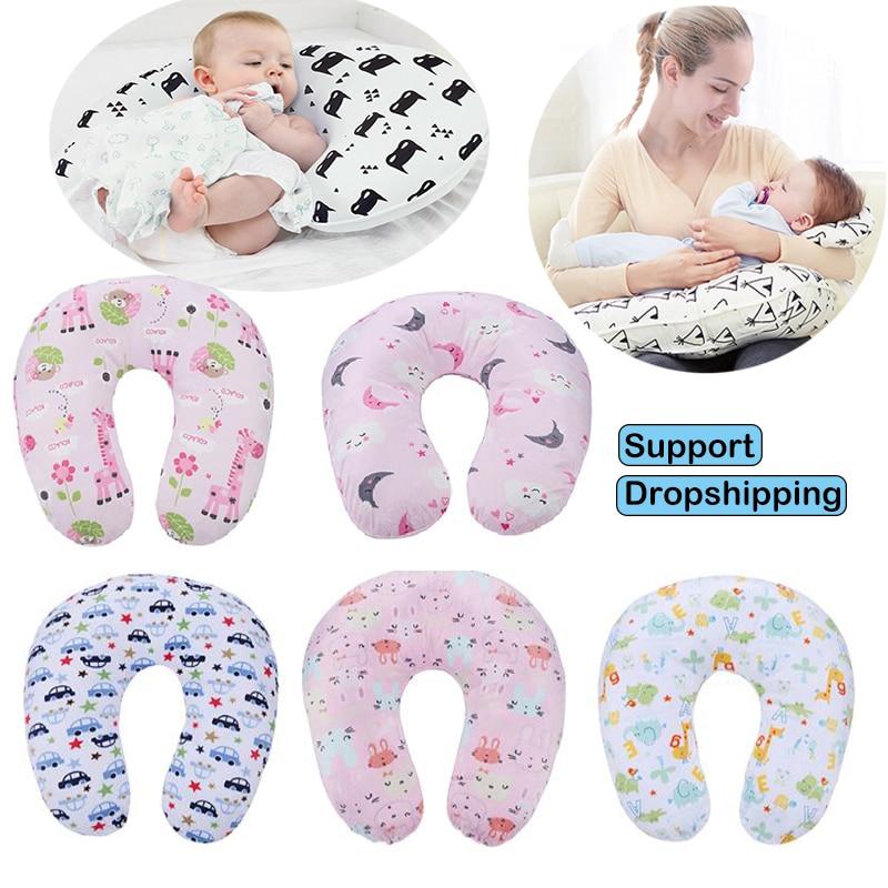 Maternity U-shaped Breast Feeding Waist Cushion Newborn Baby Breastfeeding Nursing Pillows Pregnancy Women Backrest Pillow
