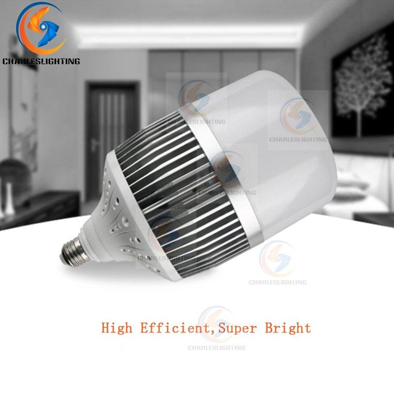 Купить с кэшбэком CHARLES LIGHTING 2 Years Warranty LED Industrial Best Price E27 Bulb 175-240V 36W/50W Energy Saving Shape Home LED Light Lamp