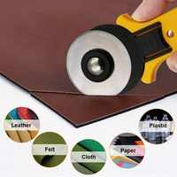 Rotary cutter 45mm 28mm thin thick leather tools fabrics knife trimmer leathercraft hob cutting cloth paper patchwork round