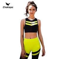 yoga set yoga jumpsuit v collar leisure sports women sport yoga pants patchword sleeveless womens high waisted yoga leggings