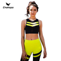 yoga set yoga jumpsuit v collar leisure sports women sport yoga pants patchword sleeveless womens high waisted yoga leggings