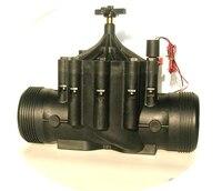 リモート制御の農業インテリジェント灌漑電磁弁 4 インチ 9 V DC ラッチ