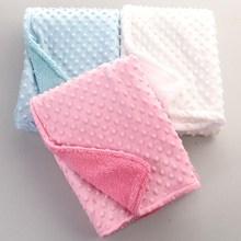Manta para bebés Azul-Rosa-Blanco