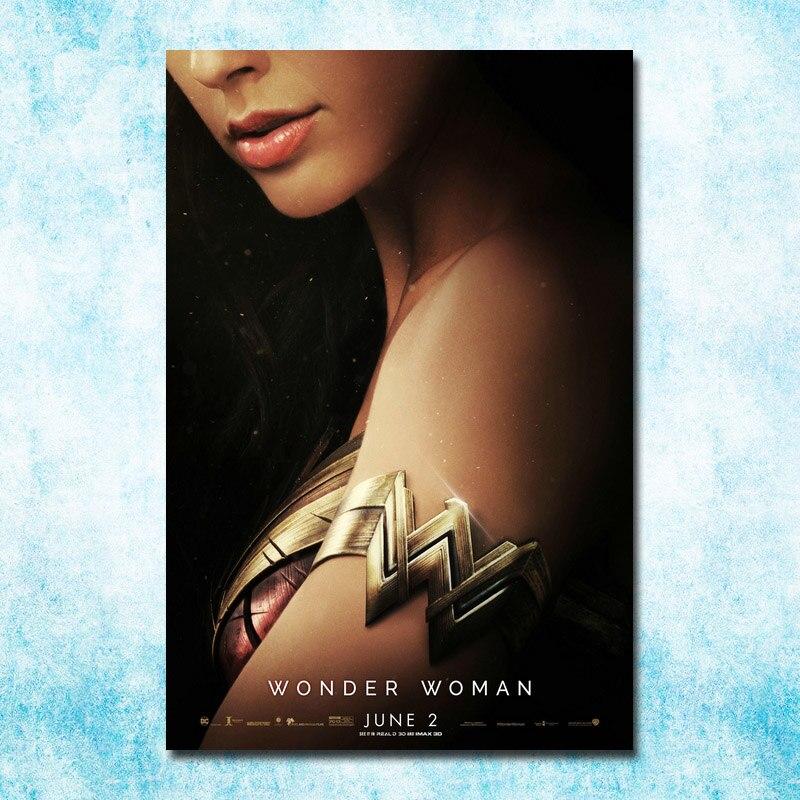 Wonder Woman 2017 Superheroes Movie Art Silk Poster Print 12x18 24x36 inch
