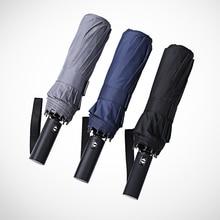 Fully Automatic Umbrella Folding Women Windproof Raincoat Kids Corporation Parasol Garden Payung Sun 50KO009