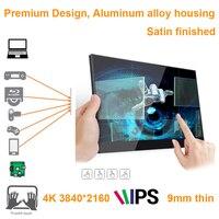 15,6 дюймов 4 K 3840*2160 сенсорный экран монитор (идеально подходит для смартфонов, xbox, коммутатор, PS станция игровая консоль, raspberry pi, STB)