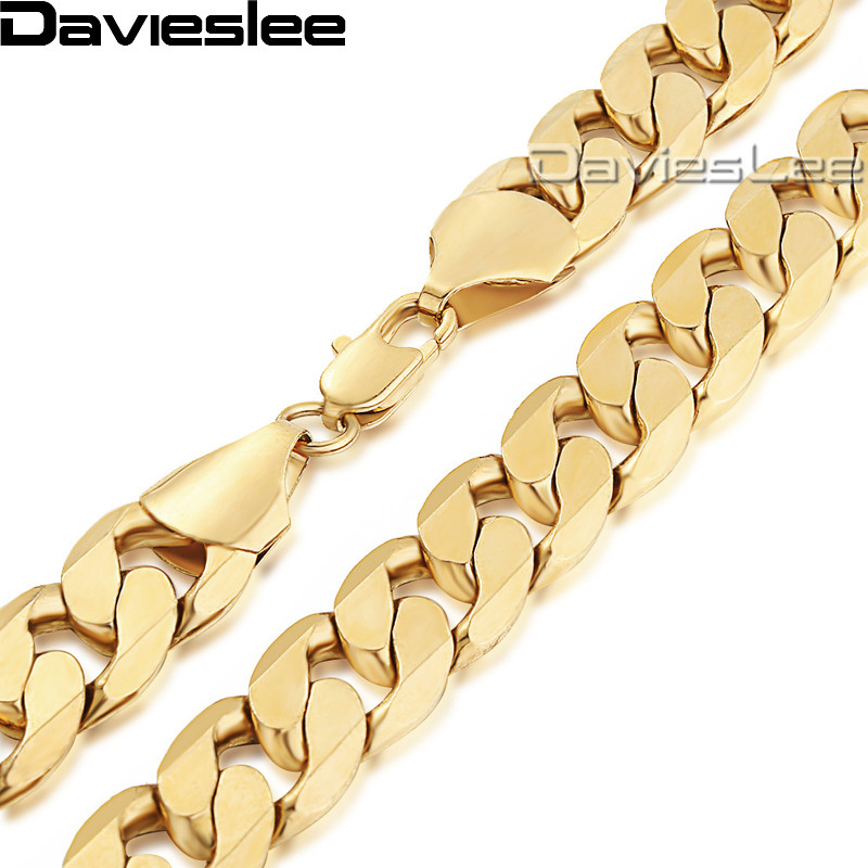 Davieslee Mens Κολύμβηση Κολιέ Κουβανική - Κοσμήματα μόδας - Φωτογραφία 2