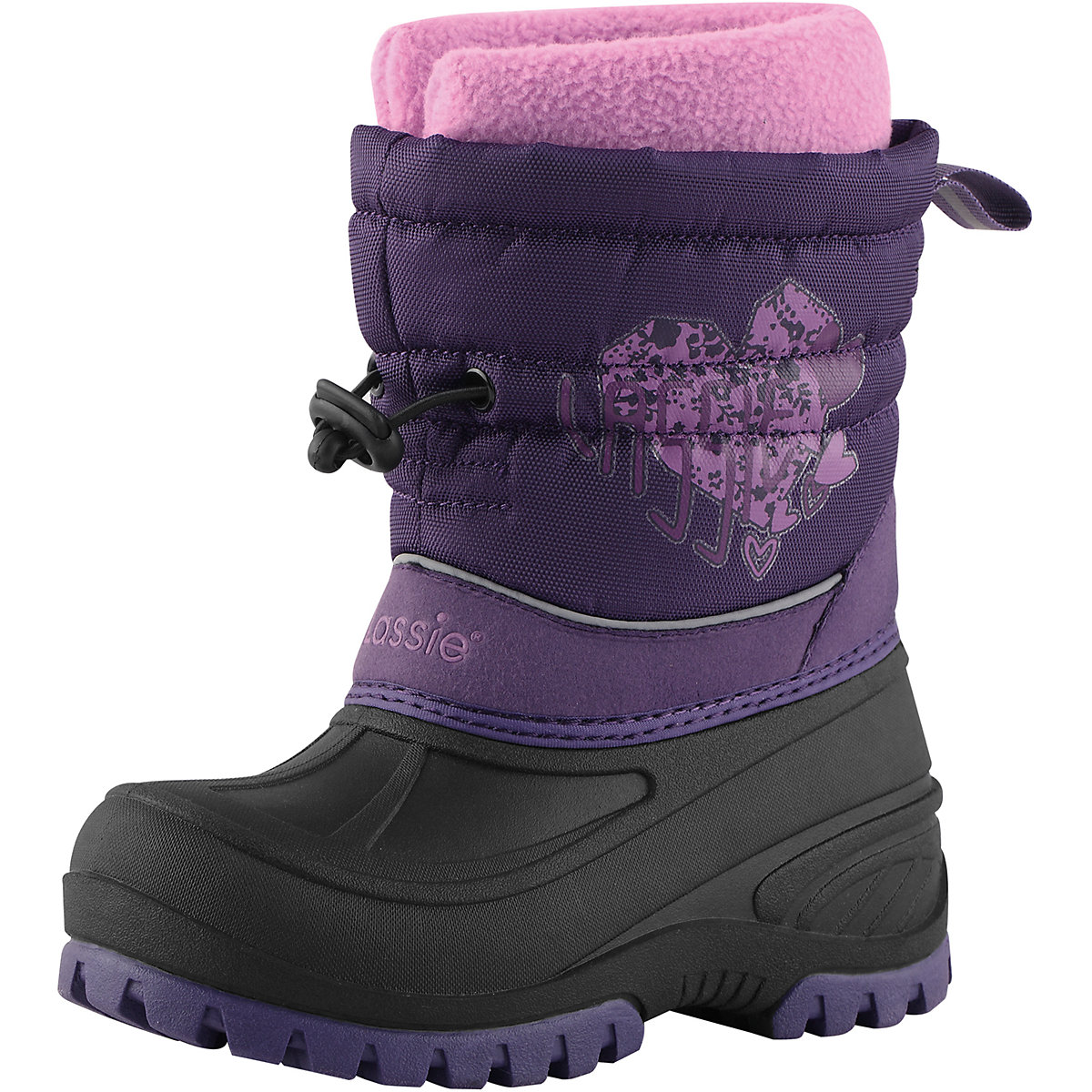 Boots LASSIE for girls 8623025 Valenki Uggi Winter shoes Children Kids