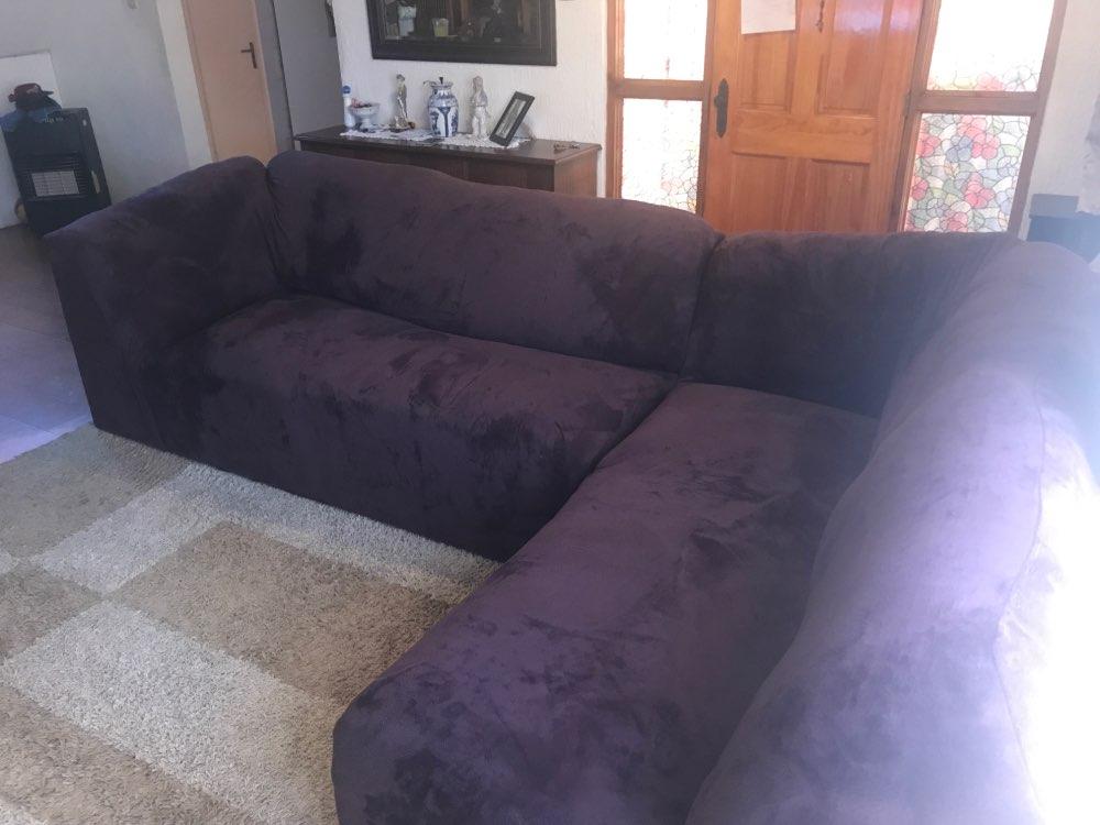Capa p/ sofá Estiramento Elástico Chaise