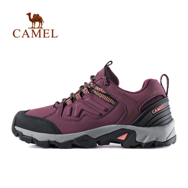 CAMEL 2019 New Fashion Women Outdoor Hiking Shoes Anti skid Shock Light Breathable Female Camping Trekking