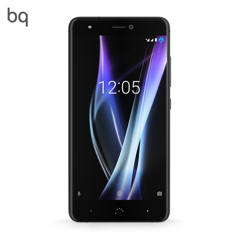 Смартфон Bq Aquaris x pro black 5,2 ''(Встроенная память 128 ГБ, ОЗУ 6 ГБ, камера 12 МП, android 7.1.1 nougat)