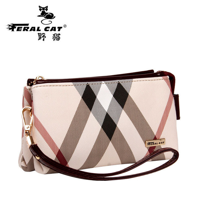 02bc4d983f8 FERAL CAT Luxury Women's Fashion Handbags Online Designer Elegant Leather  Shoulder Bags For Ladies-in Clutches from Luggage & Bags on Aliexpress.com  | ...