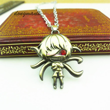 Tokyo Ghoul Kaneki Ken Pendant Necklace Key Chain KeyChain