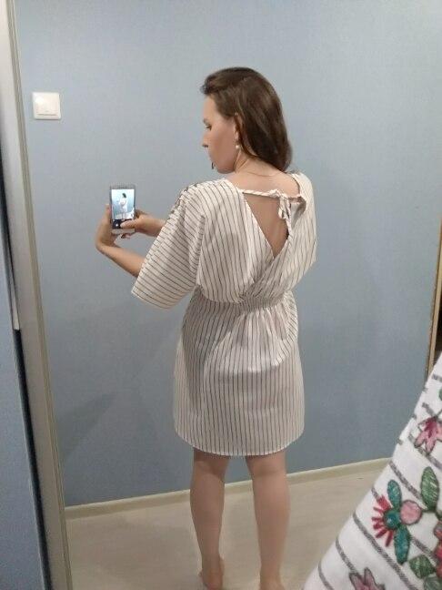 GCAROL 2018 Новый V шеи летние вышитые цветочные платье в полоску из хлопка и льна эластичный пояс чешские Стиль High Street платье