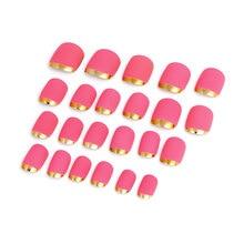 UXCELL Women Lady Diy Fake False Fingernail Full Nail Art Tip Tool 24 In 1