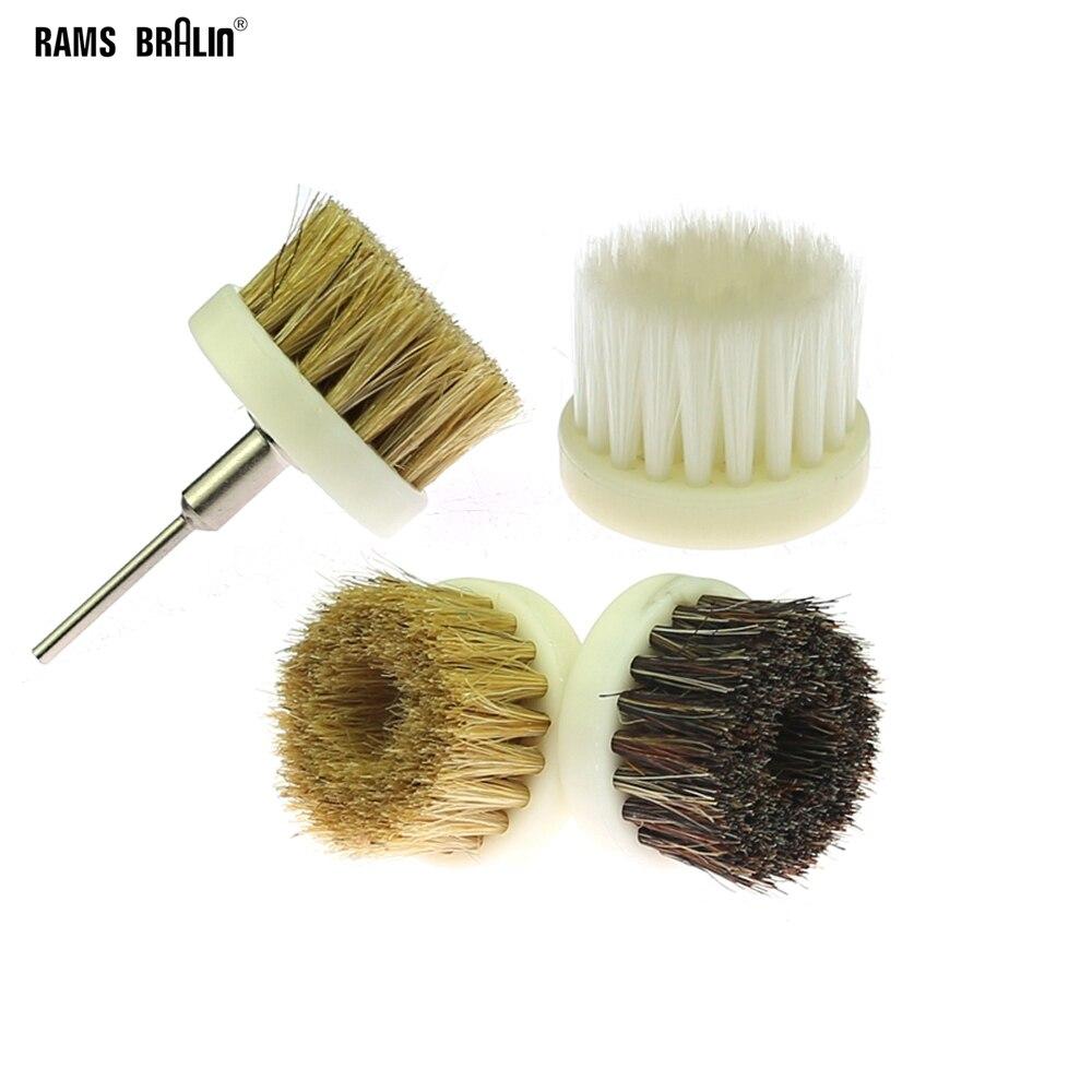 1 Pcs Dremel Wheel Brush Sisal Bristle Polishing Waxing Brush For Annatto Rosewood Crafts