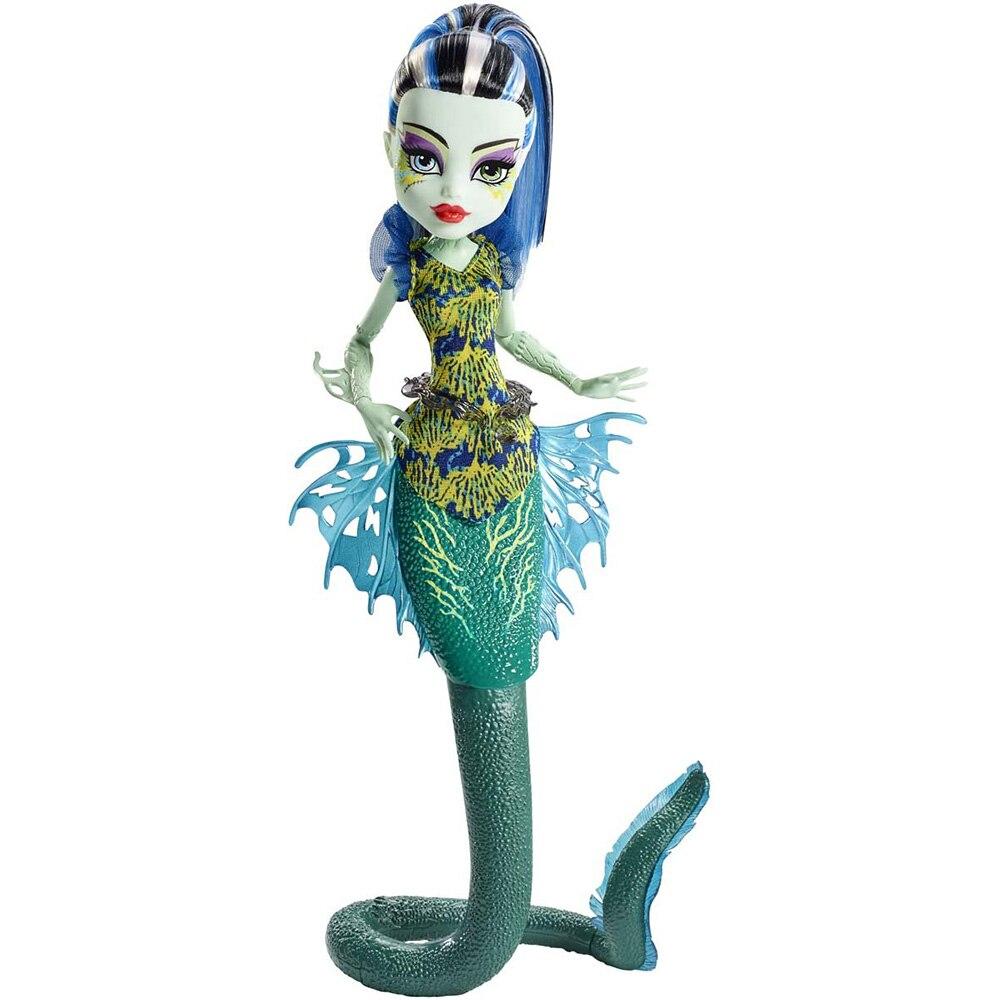 Poupée Monster High Frankie Stein-Grand Скарьерный (Horrible Récif