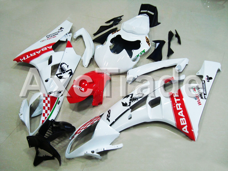 Motorcycle Fairings For Yamaha YZF600 YZF 600  R6 YZF-R6 2006 2007 06 07 ABS Plastic Injection Molding Fairing Bodywork Kit 10 hot bodywork fairings set for yamaha injection molding yzf r6 2006 2007 red black santander yzf r6 06 07 fairing kit hy42