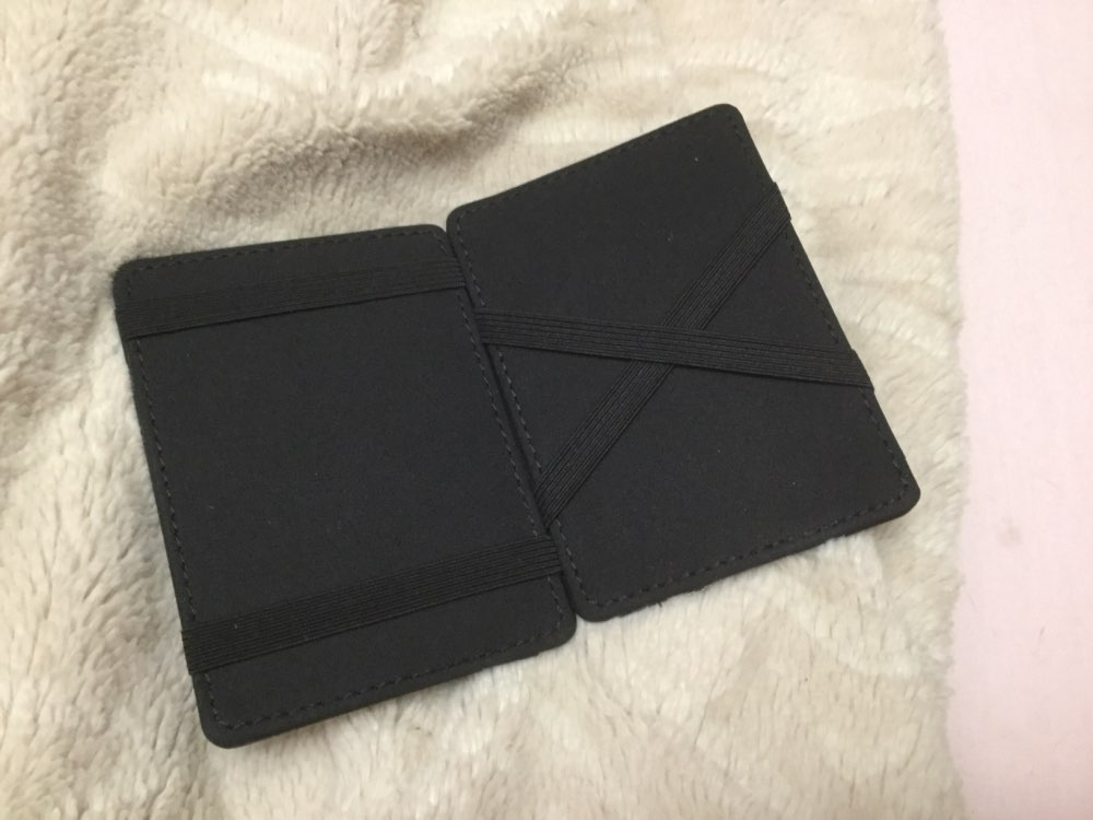 Hot Sale Multifunction Fashion Unisex Women Men PU Leather Purse Clutch Wallet Simple Card Holder Bag ID Credit Card Coin Holder photo review