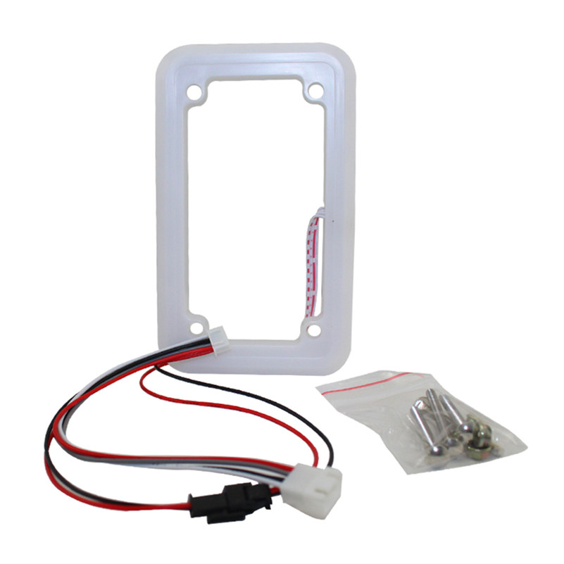 DC12V RGB Flash in Cycle Decorative Frame for Coin Acceptor