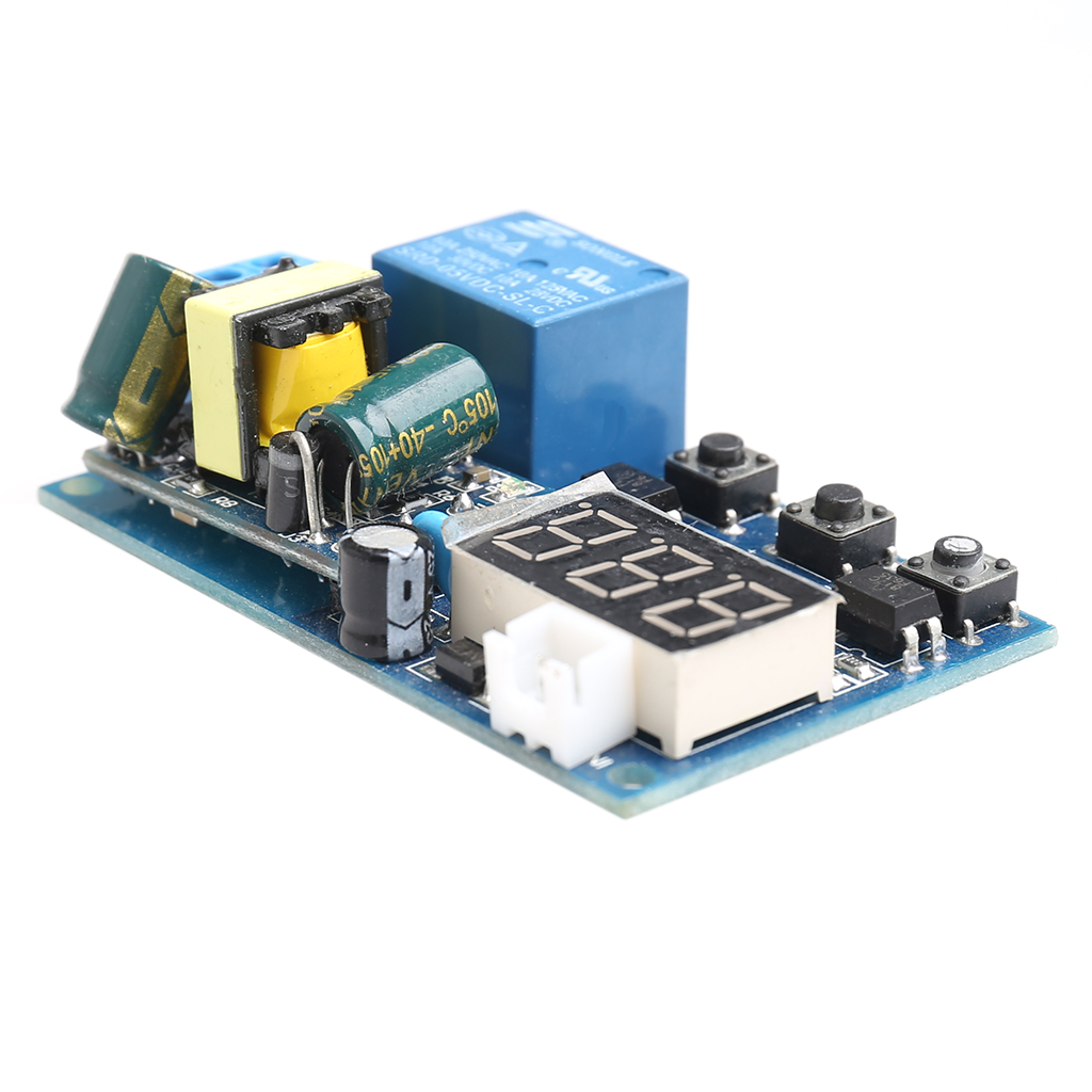 Stair Light Delay Timer Controller  Relay Normally Open Contact Adjustable stair light