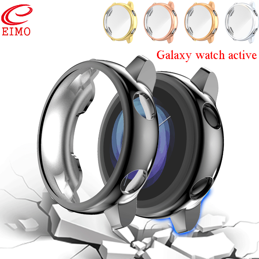 Galaxy watch active for Samsung galaxy watch active screen protector case silicone Ultra-thin Full coverage bumper Accessories