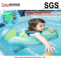 Free Swimming Baby Inflatable Float Ring Children Waist Inflatable Pool Toys for Bathtub and Pools Swim Trainer of 3 30month