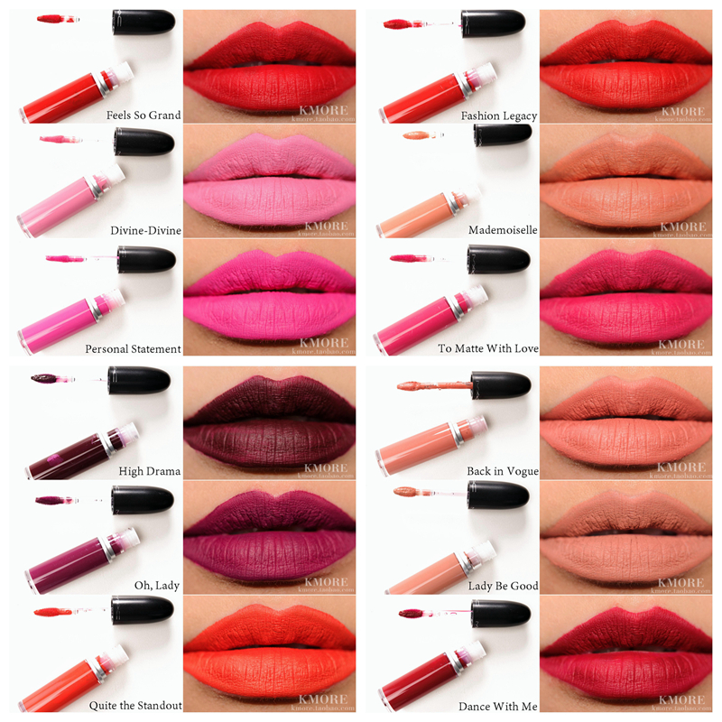 Mac makeup 14 Different Colors Sexy Matte Lipstick Moisturizer Easy to Wear Pencil Lip Stick Cosmetic With Box