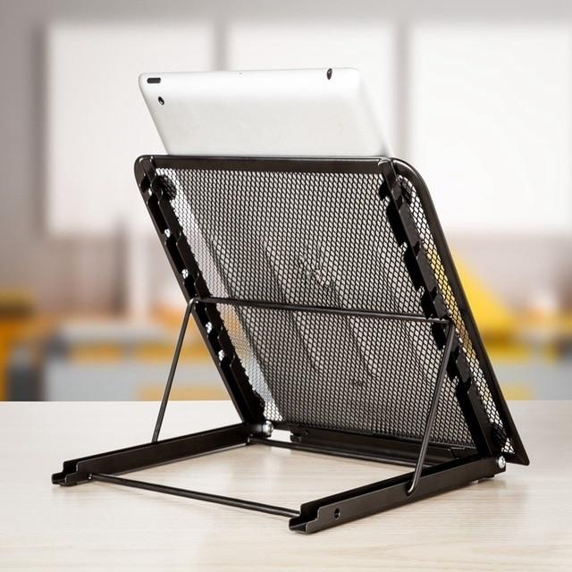 Adjustable Desktop Computer Bracket Radiator Portable Table Laptop Cooling Cooler Bracket Laptop Stand