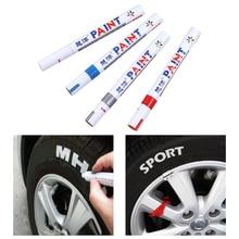 Универсальный водонепроницаемый цветной протектор для автомобильных шин, резиновый металлический маркер с перманентной краской, ручка, автомобильные аксессуары, Стайлинг автомобильных шин
