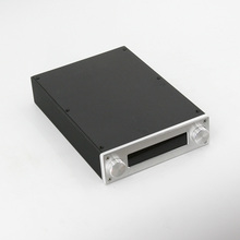 BZ2206A Full Aluminum Preamp Enclosure Amplifier Chassis Mini HiFi AMP Box For JV13 Remote Control Volume Board