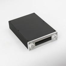 BZ2206A מלא אלומיניום Preamp מארז מגבר מארז מיני HiFi AMP תיבת עבור JV13 שלט רחוק נפח לוח
