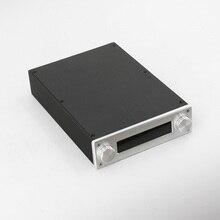 BZ2206A كامل الألومنيوم Preamp الضميمة مكبر للصوت الهيكل البسيطة ايفي أمبير مربع ل JV13 التحكم عن بعد حجم مجلس
