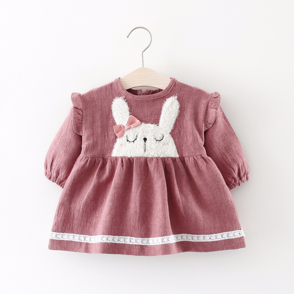 7dee056ad Autumn New Casual Baby Girl Dresses Girls Dress Butterfly ...